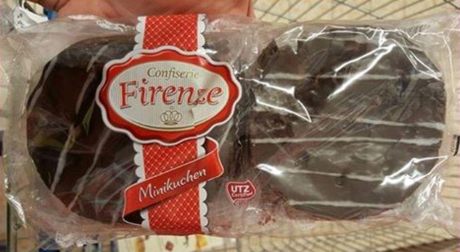 LIDL-Confiserie Firenze Minikuchen